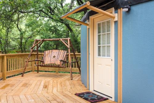Loyd Park Yurts, Cabins, and Lodge